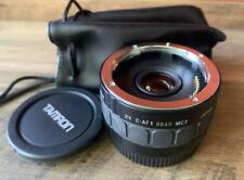 Tamron F AF Tele-Converter 2x BBAR MC7 for Canon AF