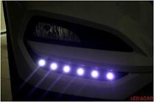 Front Bumper LED Fog Lamp DRL DayTime Running Lights For 2016+ Hyundai Tucson