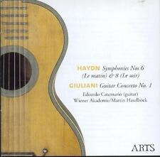 GIULIANI: GUITAR CONCERTO + HAYDN SYMPHONIES 6 & 8 / WIENER AKADEMIE / HASELBÖCK