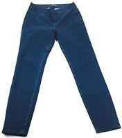 J Crew Womens Pull On Toothpick Jean Size 28 Indigo Blue Skinny Dark Wash