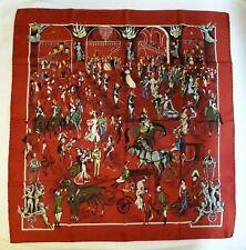 HERMES foulard COLLECTOR Soirée à l'Opéra - J.L.Clerc 1950 rare scarf