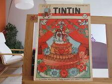 JOURNAL DE TINTIN N°48 2EME ANNEE BE/TBE 1947 SORTI DE RELIURE