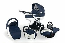 S-LINE OTTIS ADBOR 3in1 -pram/pushchair/car seat;complies with BS 5852