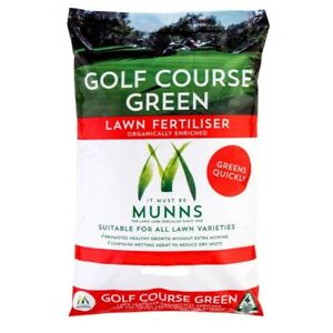 Munns Golf Course Green  Grass Lawn Fertiliser 20kg All Lawn Food