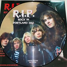 IRON MAIDEN, ROCK IN PORTLAND 1982, LIMITED EDITION PICTURE DISC, VINYL LP NEW