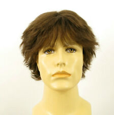 Short Wig For Men Natural Hair dark Blond Ref DANY 8