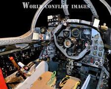 USAF Martin B-57B Canberra Bomber Front Cockpit #4 8x10 Color Photo