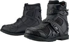 Summer 100% Leather Motorcycle Boots CE Approved