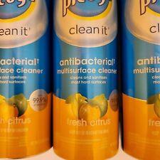 3 Pledge Multi-surface Cleaner Fresh Citrus scent 9.7 oz. each