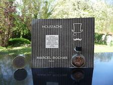Miniature PASTILLE - MOUSTACHE de ROCHAS sur Carte Publicitaire - Perfume Mini