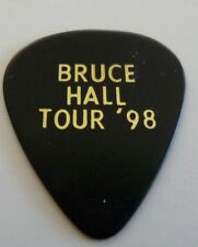 REO Speedwagon Bruce Hall 1998 Black Tour Concert Issued Guitar Pick