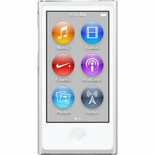 Apple iPod nano 7th Generation Silver (16GB) (Latest Model) - NEW
