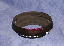 metal lens hood NO. 12504 for Leica/Leitz Wetzlar for 35mm f1.4 and f2(black)