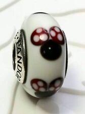 Authentic Pandora 925 silver murano bead charm  Disney Classic Minnie 791634