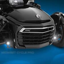 Can Am Spyder F3 Black LED Mini Driving Light Kit by Show Chrome (41-301LBK)