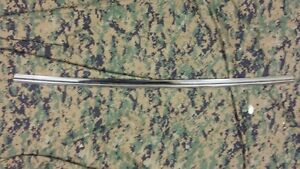 1964 65 66 Ford Thunderbird rear window center stainless steal trim molding oem