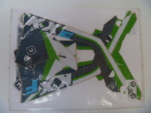 kawasaki kx450f 2012 to 1013 sticker kit ,decal kit flu designs