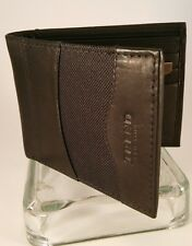 Trend of New York Genuine Dark Brown Leather Wallet Brand New in Box
