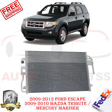 A/C CONDENSER For 2009-2012 FordEscape 2009-2010 Tribute Mariner Auto Trans