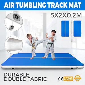 2x5M Air Track Tumbling Matte Turnmatte Gymnastikmatte Trainingsmatte Aufblasbar