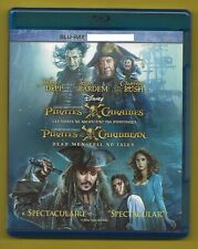 Pirates of the Caribbean Dead Man Tell No Tales Blu-ray with Case and Artwork