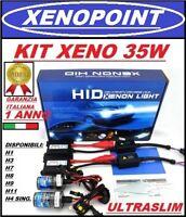 KIT XENON SLIM FARI XENO H7 H1 H11 H8 H9  6000K 35W AUTO MOTO CAMPER CAMBUS
