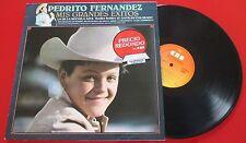 """Mexican Folk PEDRITO [Pedro] FERNANDEZ """"Mis Grandes Exitos"""" UNIQUE 1980 Spain LP"""