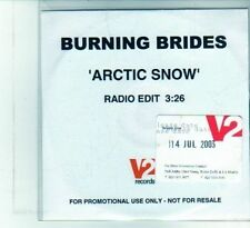 (DU876) Burning Brides, Arctic Snow - 2003 DJ CD
