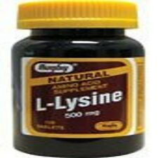 L-Lysine 500 mg 100 Tabs by Rugby