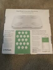 FitTrack Dara Smart BMI Digital Scale - Measure Weight and Body Fat (BRAND NEW!)