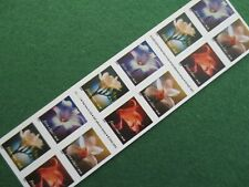 DOC Scott #3490e Flowers 4 kinds 2000 34¢ Booklet of 20  MNH Self Adhesive