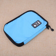 Portable Travel Cable Bag USB Organizer Charger Wire Cosmetic Storage Pouch Case