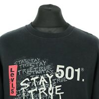 Vintage LEVI'S Sweatshirt   Jumper Sweater Sweat Pullover Retro Strauss