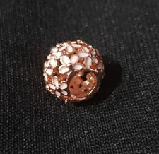Rose Gold Plated Dazzling Daisy Meadow Charm by Pandora's Box Inc