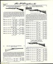 1960 ADVERT Beretta Over Under Silver Snipe Featherweight Shotgun Savage Ithaca