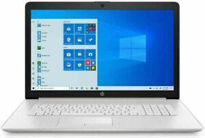 HP 17-BY3063ST 17.3 HD (1TB HDD + 128GB SSD, i3 10th Gen, 8GB) Laptop - Silver 1