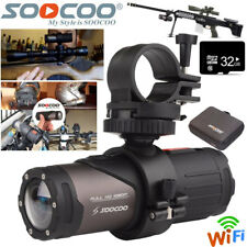32GB WIFI HD 1080P Sports Action Camera Bike Helmet For Shotgun SOOCOO Camcorder
