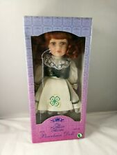 "The Leonardo Collection Porcelain Hand Painted Doll ""Caitlyn"" In Irish Costume"