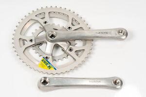 Vintage Shimano Biopace FC-B124 Bicycle Crankset 175 mm Triple 28/44/50t Rare