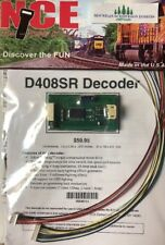 NCE 111 D408 DCC Decoder for O, S, and Large Scale    D408SR   MODELRRSUPPLY