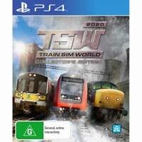 Train Sim World 2020 Collector's Edition PS4 Playstation 4 Brand New Sealed