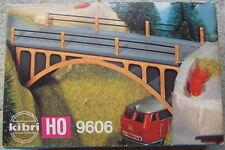 KIBRI 9606 H0 - Strassenbrücke - Bausatz 70er Jahre vollständig - NEU + OVP