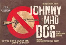JOHNNY MAD DOG Movie POSTER 27x40 UK Christophe Minie Daisy Victoria Vandy