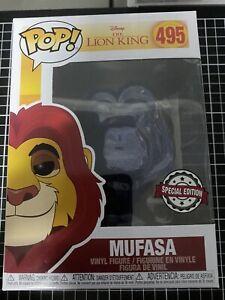 The Lion King Mufasa Spirit Translucent Exclusive Pop! Vinyl