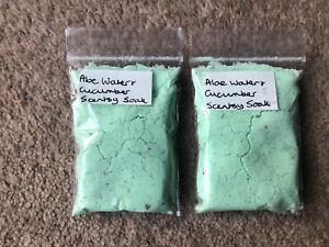 Aloe Water & Cucumber Scentsy Soak Samples