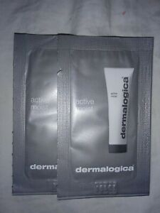 Lot Of Two Dermalogica Active Moist Packet Samples