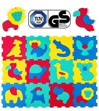 VERGLEICHSSIEGER 2018* Puzzlematte für Kinder, 12 Speilmatten in einer Tasche