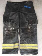 Firefighter Janesville Lion Apparel Turnout Bunker Pants 46x34 Black 2002