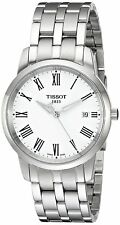 Tissot Classic Dreams White Dial Stainless Steel Men's Watch T033.410.11.013.01