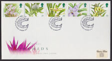 Great Britain 1993 FDC Royal Mail Cover Orchids Flowers FDI Glasgow cancel